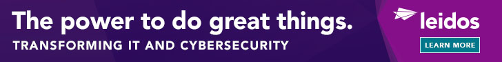 Leidos is a recognized leader in cybersecurity across the federal government, bringing decades of experience defending cyber interests globally and delivering advanced capabilities honed from protecting some of the world's most valuable assets. Leidos uses intelligent automation and AI/ML-driven analytics, combined with detection and mitigation, to protect and defend the nation's largest and most attacked mission-critical networks. And we effectively transform Cyber Defense operations to be adaptive and threat intelligence focused, keeping networks, people, and property well-protected. Learn more about how Leidos is transforming IT and cybersecurity in a changing world.