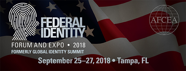 2018 Federal Identity Forum & Exposition: Conference Schedule